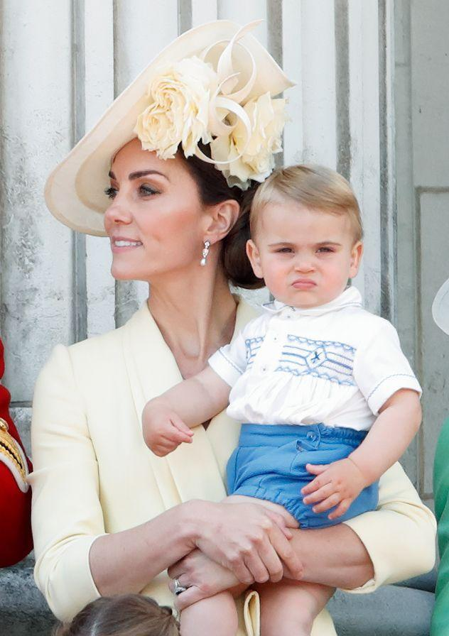 <p>Prince Louis, the one-year-old son of the Duke and Duchess of Cambridge, is the fifth in line to the throne.</p>