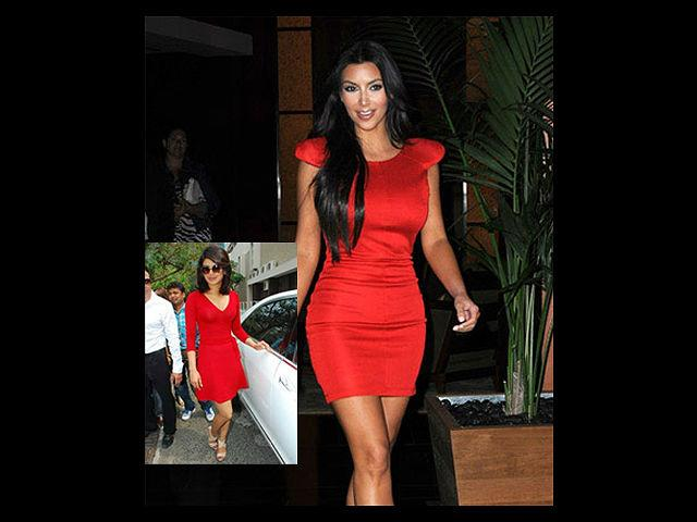 """<div class=""""heading03"""">Little Red Dress</div> <p><span style=""""text-decoration: underline;""""><strong>Celeb Example: </strong><strong>Kim Kardashian</strong></span></p> <p>It is not sufficient to just have a little black dress in your closet. You should certainly rethink and buy a classic short red dress that you see Kim Kardashian wearing in the photograph. What we love about this dress is that it makes Kim show off her enviably toned legs (for a change!). She keeps it simple by wearing nude coloured pumps and lip colour that goes well with her skin tone. If you want to replicate this look, we would recommend, you wear a stylish big dial watch with it; it will add up the glam quotient.</p>"""