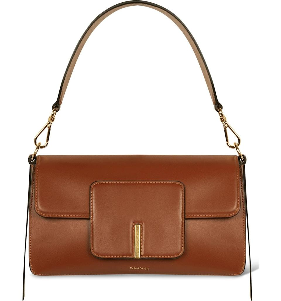 <p>This <span>Wandler Georgia Bag</span> ($850) is exactly what we want to be wearing in 2021, and we love that it comes with two straps.</p>