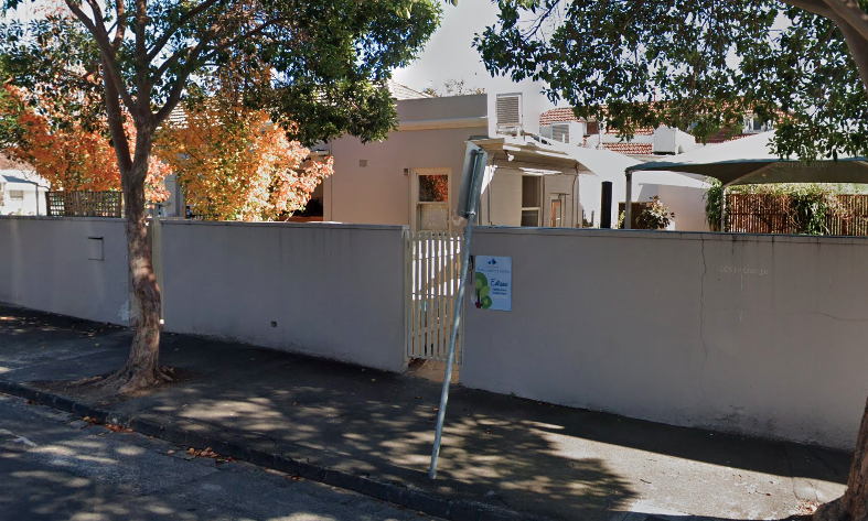 The Guardian Childcare and Education in Prahran where an infected child attended. Source: Google Maps