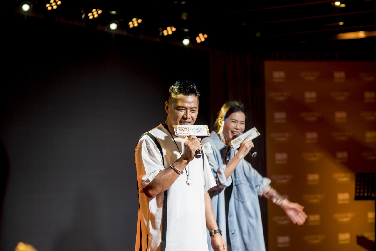 <p>Duet by Li Nanxing (李南星) and Constance Song (宋怡霏). (Photo: Orient Palace & Spa Nes) </p>
