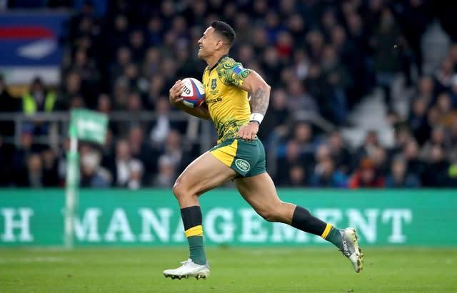 "Israel Folau was sacked by Rugby Australia last May after claiming ""hell awaits"" gay people (Adam Davy/PA)"