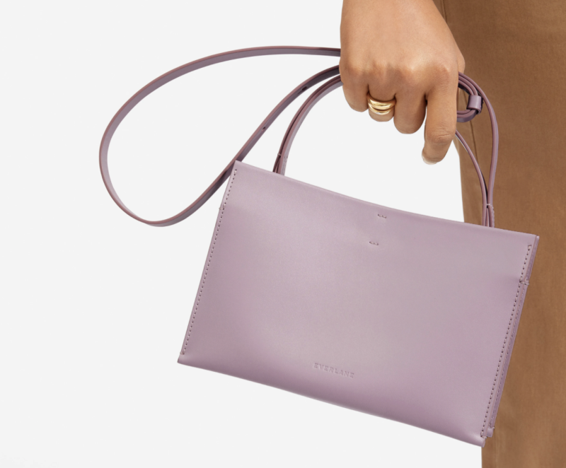 Everlane's new Lunchbox Bag retails for $231 CAD and comes in four colours.