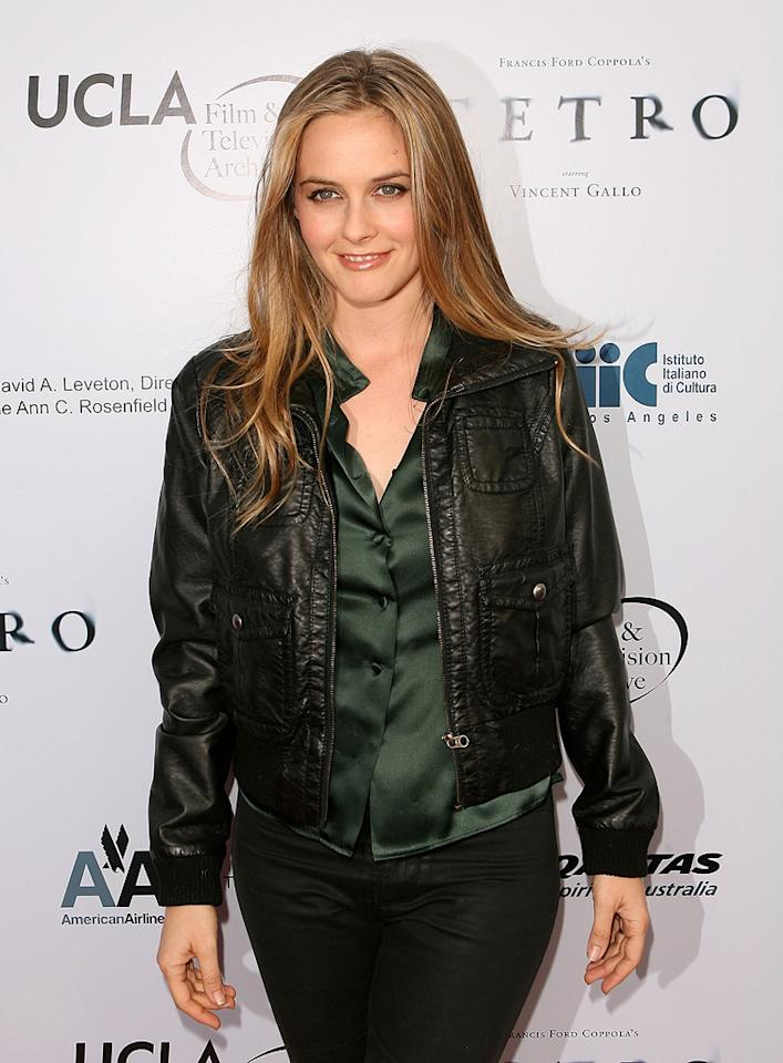 """<a href=""""http://movies.yahoo.com/movie/contributor/1800018728"""">Alicia Silverstone</a> at the Los Angeles premiere of <a href=""""http://movies.yahoo.com/movie/1810022037/info"""">Tetro</a> - 06/03/2009"""