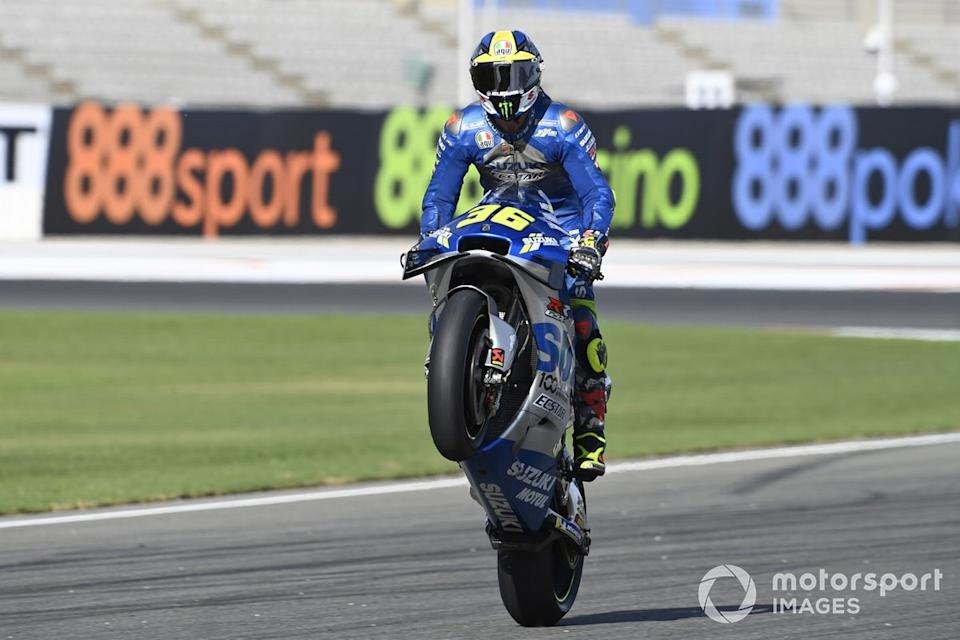 "GP de Europa: Joan Mir, Team Suzuki MotoGP<span class=""copyright"">Gold and Goose / Motorsport Images</span>"