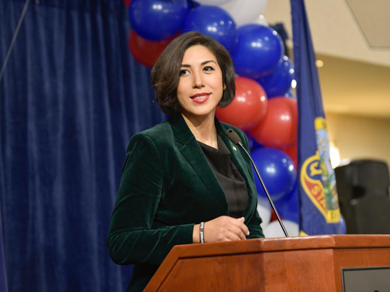 Paulette Jordan will face Sen. Jim Risch in November. (Photo: Diane Loos/ASSOCIATED PRESS)