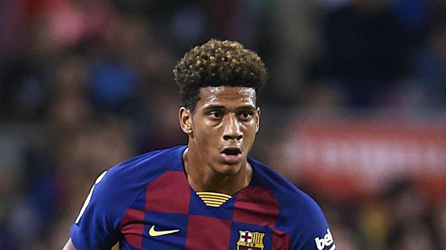 Barcelona defender Jean-Clair Todibo has joined Schalke on loan for the rest of 2019-20, with an option for the deal to be made permanent.