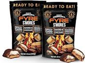 """<p><strong>FYRE</strong></p><p>amazon.com</p><p><strong>$14.95</strong></p><p><a href=""""https://www.amazon.com/dp/B07J48KG4P?tag=syn-yahoo-20&ascsubtag=%5Bartid%7C1782.g.994%5Bsrc%7Cyahoo-us"""" rel=""""nofollow noopener"""" target=""""_blank"""" data-ylk=""""slk:BUY NOW"""" class=""""link rapid-noclick-resp"""">BUY NOW</a></p><p>Ready to eat...no campfire required.</p>"""