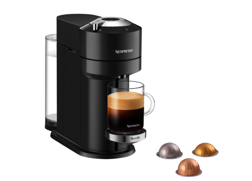 Nespresso Vertuo Next Premium Espresso Machine by Breville. Image via Best Buy.