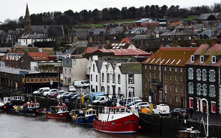 The £100m has been promised to modernise the fishing fleet - ANDY BUCHANAN/AFP