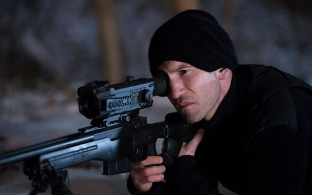 Jon Bernthal in <em>The Punisher</em> (Photo: Netflix)