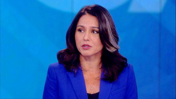 PHOTO: Tulsi Gabbard appeared on 'The View,' July 22, 2019. (ABC News)
