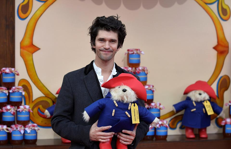 Actor Ben Whishaw poses for photographers at the world premiere of 'Paddington 2' at the BFI Southbank, in London, Britain November 5, 2017. REUTERS/Mary Turner
