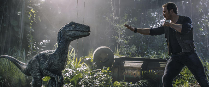 Box office top 20: 'Jurassic World' debuts with $148M
