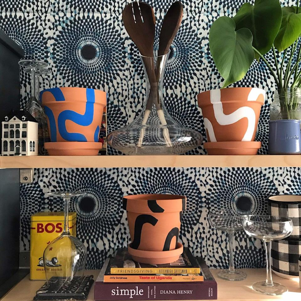 "<h2>Bogolan Bauhaus Twist Plant Pots</h2><br>Ideal for the plant lover and succulent collector — xNStudio crafts plant pots that make a statement in any living space. Side note; don't forget to <a href=""https://www.etsy.com/listing/579333715/de-novo-mudcloth-pillow-cover"" rel=""nofollow noopener"" target=""_blank"" data-ylk=""slk:check out their pillow covers"" class=""link rapid-noclick-resp"">check out their pillow covers</a>. <br><em><br>Shop </em><a href=""https://www.etsy.com/shop/xNStudio?ref=simple-shop-header-name&listing_id=866248104"" rel=""nofollow noopener"" target=""_blank"" data-ylk=""slk:xNStudio"" class=""link rapid-noclick-resp""><em><strong>xNStudio</strong></em></a><br><br><strong>xNStudio</strong> Bogolan Bauhaus Twist Plant Pots, $, available at <a href=""https://go.skimresources.com/?id=30283X879131&url=https%3A%2F%2Ffave.co%2F3fuOx80"" rel=""nofollow noopener"" target=""_blank"" data-ylk=""slk:Etsy"" class=""link rapid-noclick-resp"">Etsy</a>"