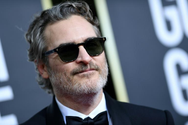 """Joaquin Phoenix won the best drama actor prize at the Golden Globes for his radical turn in """"Joker"""""""