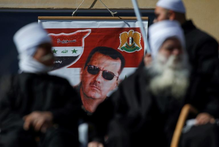 In 2011, Syrian President Bashar al-Assad briefly looked like another domino about to fall in the Arab Spring uprisings, but 10 years on, he is still there