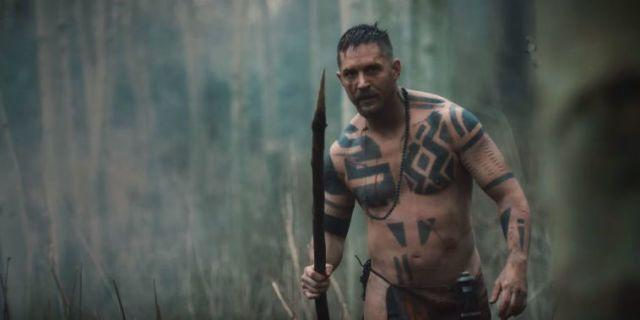 <strong>Tom (complete with loin cloth) plays James Delaney in the eight-part series.</strong> (Photo: BBC)