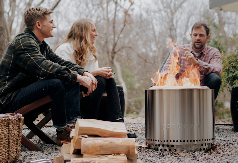 Save $130 on a Bonfire pit and stand right now at Solo Stove.