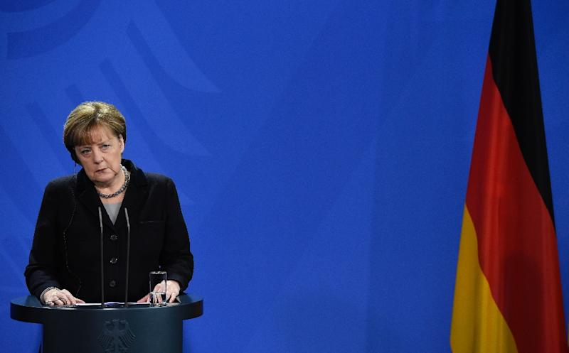 German Chancellor Angela Merkel has pledged strong action against the sexual assaults during New Year's Eve festivities in Cologne (AFP Photo/Tobias Schwarz)