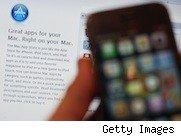 Picture of an iPhone and app screen