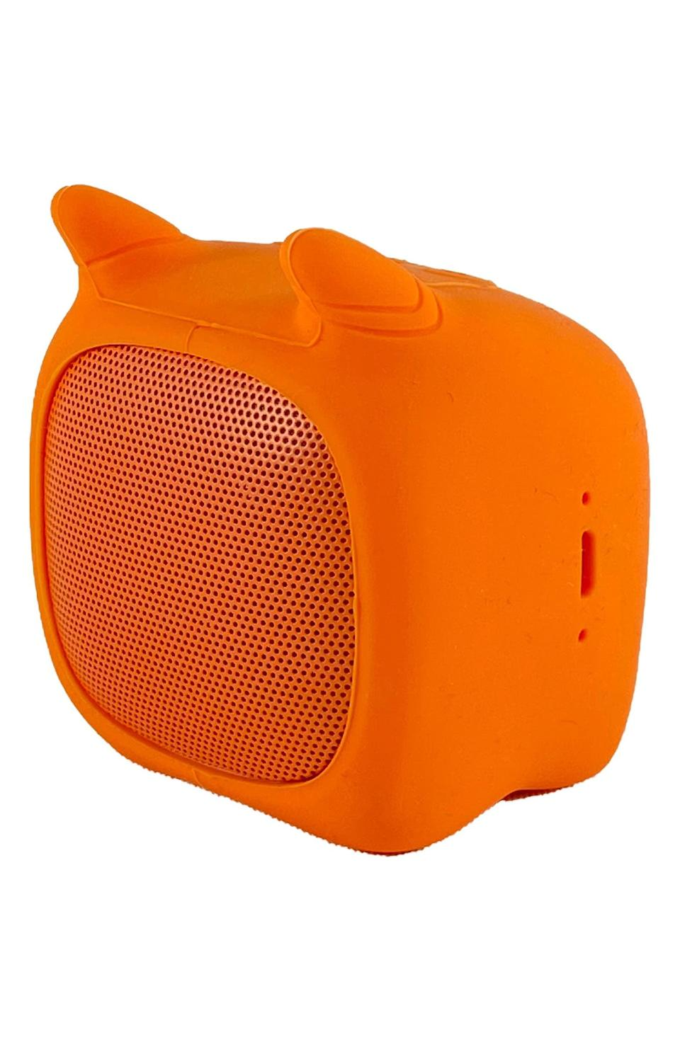 <p>The <span>Qushini Cat Portable Bluetooth Speaker</span> ($25) is so adorable, we're adding it to our carts right now!</p>