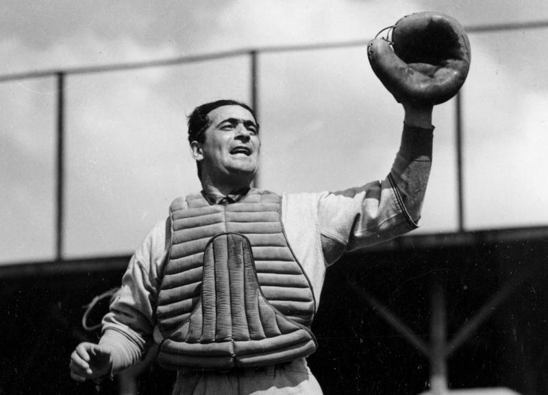 This big league catcher was also a spy during World War II