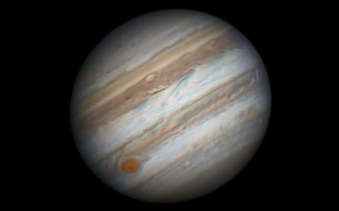 Jupiter will also be visible on Friday evening