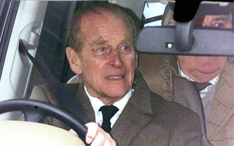 The Duke of Edinburgh has given up his licence - PA