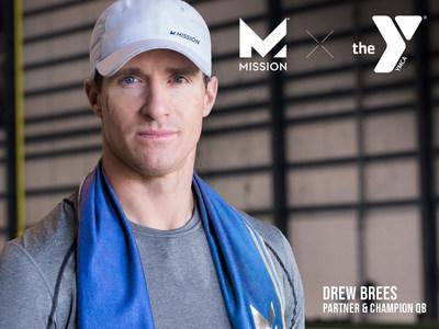 MISSION®, the preeminent innovators of temperature-regulating textile technologies, along with Partner and NFL Champion, Drew Brees, today announced it will donate $1M of MISSION Gaiters to the YMCA to provide much-needed face covers to communities in need across the United States. For more information, visit www.mission.com and follow us @missioncooling on Instagram and Facebook.