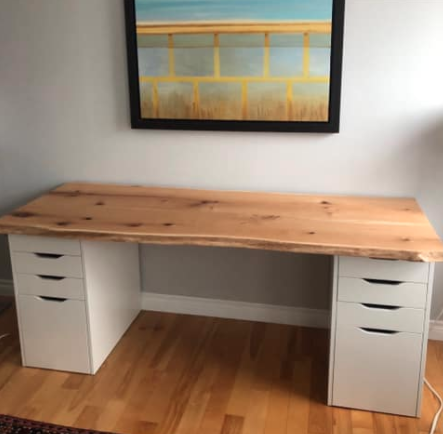 IKEA home desk
