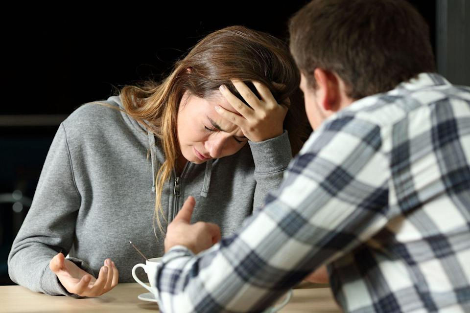 "<p>Regardless of the root issue, conflicts or divorce is never one person's fault, Henry says. 'Both partners play a role in what happens in the relationship; good and bad. This does not mean both share equal fault or 'blame,' but both partners are contributing factors,' she says. </p><p>'Perhaps there are unspoken rules or consequences in the relationship which doesn't allow either partner to be as open and honest as necessary to keep the relationship healthy.' </p><p>Humans are emotional beings, and when we become 'emotionally hijacked,' we have trouble thinking and communicating with a level head, says Kiri Maponya, a certified divorce coach and the creator of the <a href=""https://battlefreedivorce.com/"" rel=""nofollow noopener"" target=""_blank"" data-ylk=""slk:Battle Free Divorce Coaching System"" class=""link rapid-noclick-resp"">Battle Free Divorce Coaching System</a> in Westchester County, New York.</p><p>'Since men and women tend to see things differently, we often have misunderstandings that can lead to resignation, resentment, and finger-pointing,' she says.</p>"
