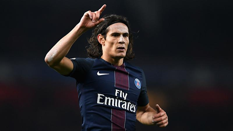 Paris Saint-Germain 4 Guingamp 0: Cavani bags brace as champions back up to second