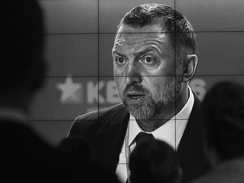 Is the tide turning on the 'complacent approach' to money from oligarchs linked to the Kremlin, including Oleg Deripaska?: Alamy