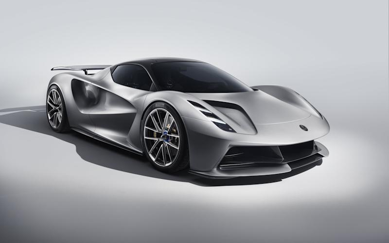 The Lotus Evija will be an all-electric hypercar
