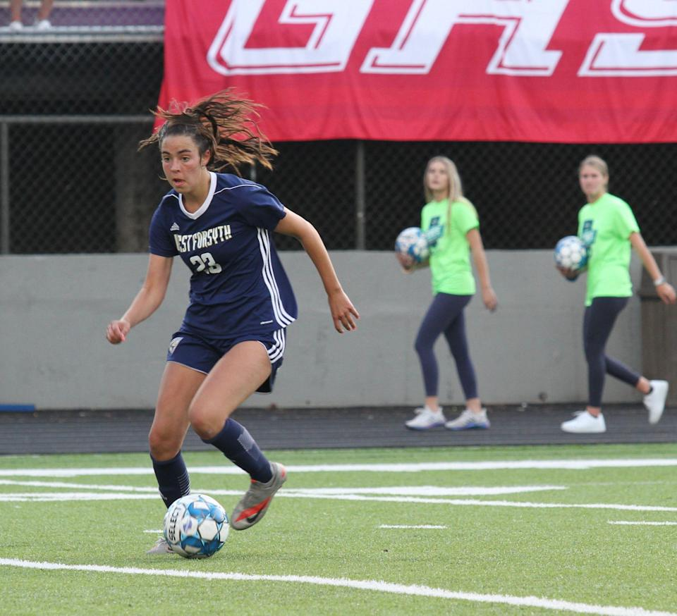 West Forsyth High School's (Georgia) Tori DellaPeruta is the first winner of the USA TODAY High School Sports Awards Girls Soccer Player of the Year honor.