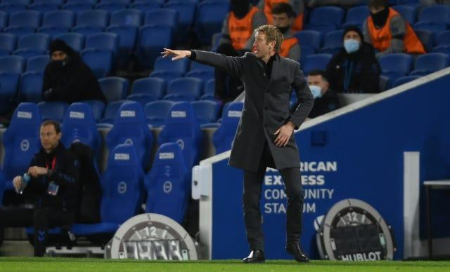 Graham Potter's Brighton earned a valuable point on Monday