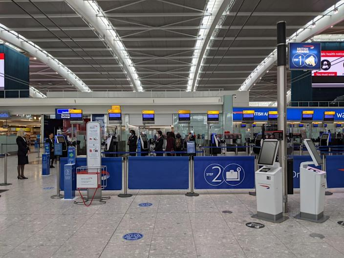 T5 check-in will look a bit busier from MondayCathy Adams