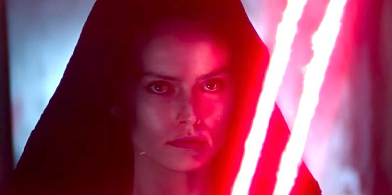 Rey was seen wielding a double-bladed, red lightsaber in the teaser trailer for 'Star Wars: The Rise of Skywalker'.