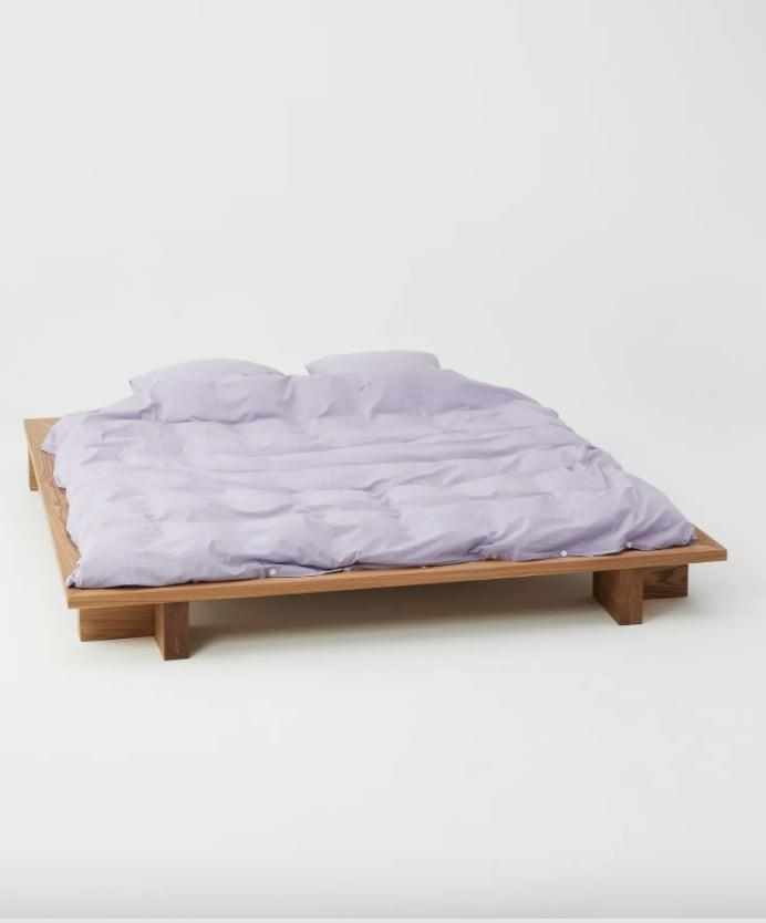 <p>You'll love cozying up with this <span>Tekla King Size Organic Cotton Percale Duvet Cover</span> ($199) for many years to come.</p>