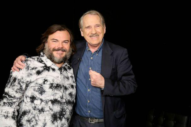 PHOTO: Jack Black appears on 'Popcorn with Peter Travers' at ABC News studios, Dec. 12, 2019, in New York. (Emilie Richardson/ABC News)