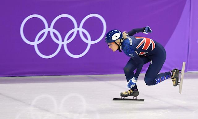 Elisie Christie saw her third and final shot at an Olympic medal end in disqualification (Andy J Ryan/Team GB)