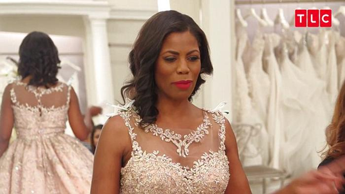 Omarosa Manigault disclosed she was paid for her appearance on <i>Say Yes to the Dress.