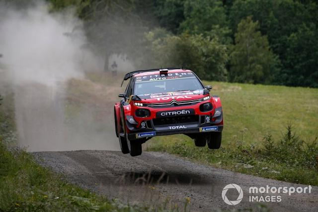 "Esapekka Lappi, Janne Ferm, Citroën World Rally Team Citroen C3 WRC <span class=""copyright"">McKlein / LAT Images</span>"