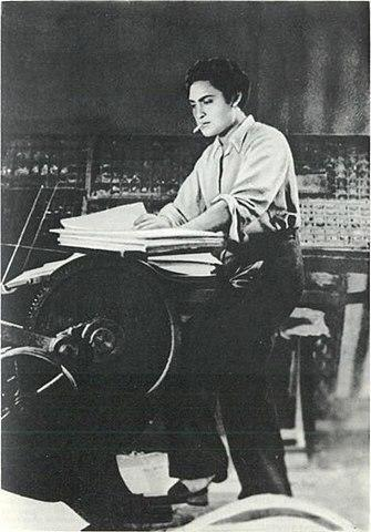 Kumudlal Ganguly married Satidevi, producer Shashadhar Mukherjee's sister, at a very young age. Though he trained to become a lawyer like his father, Ganguly's heart was not into it. Instead, he was more interested in learning the technical aspects of filmmaking, which he was introduced to by his brother-in-law. Ganguly's fortunes changed when Mukherjee helped him get a job with Bombay Talkies as a lab assistant. While shooting was underway for the 1936 film Jeevan Naiya, Najmul Hassan, the male lead, eloped with Devika Rani, the lead actress. Himanshu Rai, the producer and Devi's husband brought them back but dismissed Hassan. He then cast Ganguly as the replacement lead and gave him the name Ashok Kumar. Little would a reluctant Ganguly know then that he was headed towards stardom. After Jeevan Naiya, came Achut Kanya, again with Devika Rani, which became a huge success. Through the 1940s and 50s, Ganguly, who by then was famous as Ashok Kumar went on to star in hits such as Bandhan (1940), Azad (1940), Shikari and Saajan (1950). Kumar's versatility saw him take on many roles throughout his career – that of the young hero, the anti-hero (Kismet), and as years went by, character roles such as a father, a grandfather, a judge and an ageing priest. Kumar became one of the greatest actors in the years leading upto and after independence, working in more than 270 films, until his death in December 2001, at the age of 90.