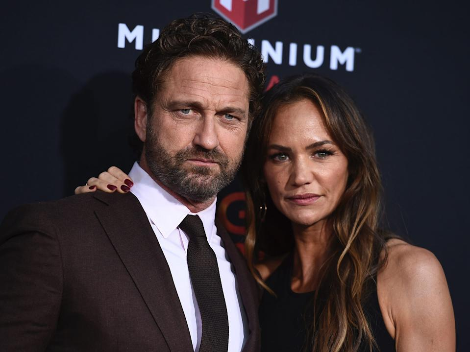 gerard butler and morgan brown august 2019