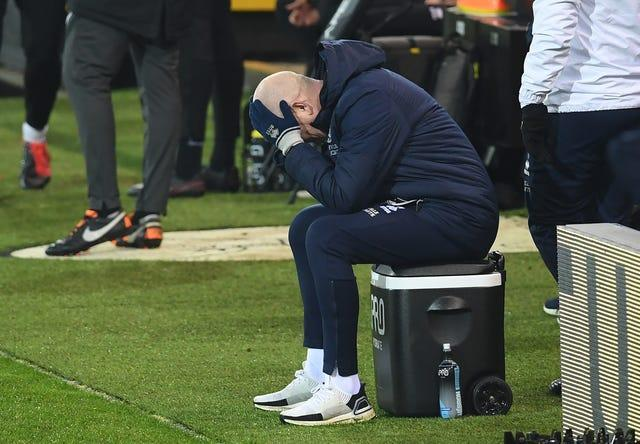 Mark Warburton has admitted QPR's fault
