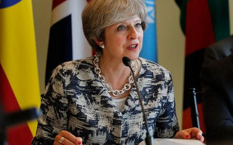 British Prime Minister Theresa May - Credit: AP/Julie Jacobson
