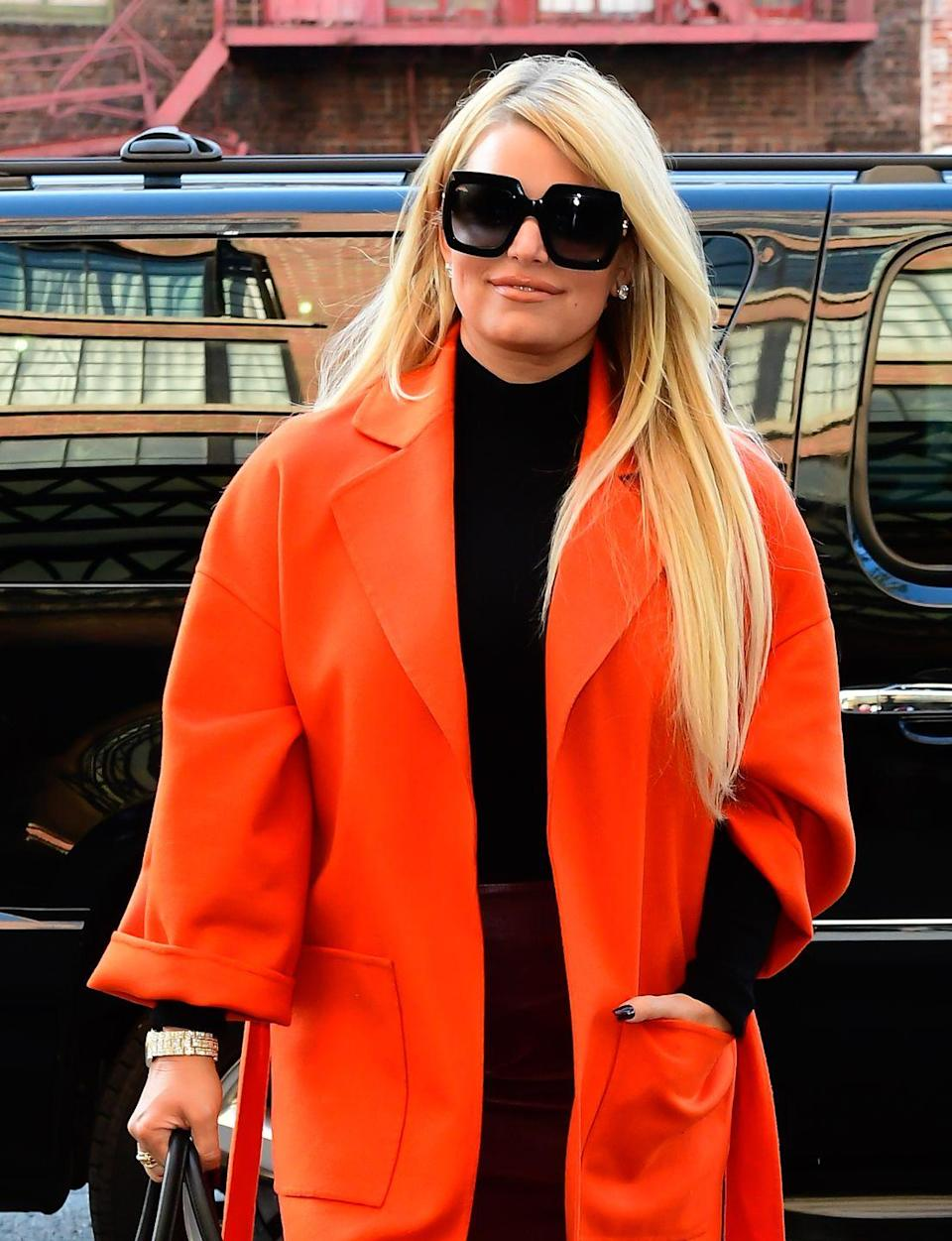 <p>In Jessica Simpson's book, she details how being sexually abused as a child lead her to self-medicate with alcohol. <br></p><p>After hitting 'rock bottom', Jessica said she got sober in November 2017 and has found a new lease of life since. <br></p><p>Now, Jessica calls sobriety and her clarity on life 'a continual gift [...] When I finally said I needed help, it was like I was that little girl <br>that found her calling again in life,' she said. 'I found direction and <br>that was to walk straight ahead with no fear.'</p>