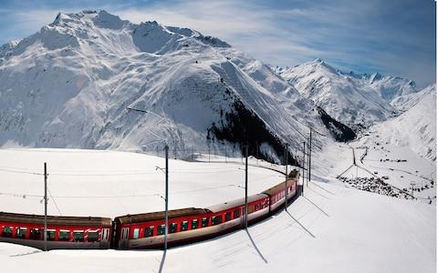 swiss train - Credit: tommy.picone/ph.tommy.picone
